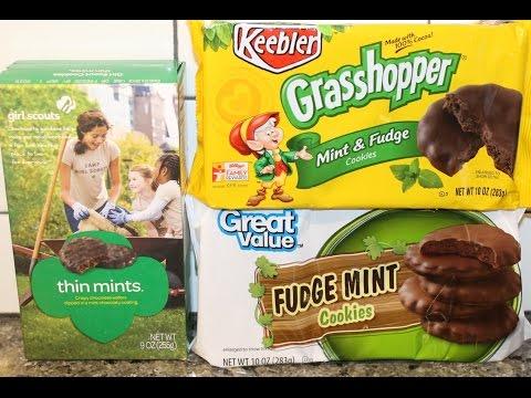 Girl Scouts vs Keebler vs Great Value: Mint Cookie Blind Taste Test