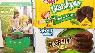 Girl Scouts Vs Keebler Vs Great Value: Mint Cookie Blind Taste Test