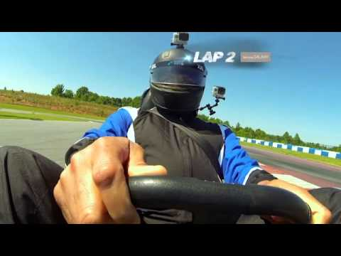 Dale Earnhardt Jr. Takes on Charles Barkley in a Go Kart Race