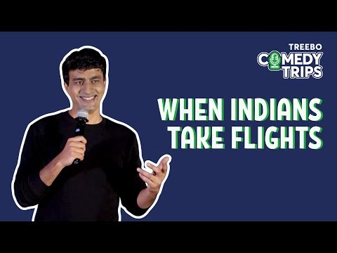 Treebo Comedy Trips - Varun Thakur in Bengaluru - When Indians Take Flights
