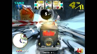 Wacky Races - Taito Type X² - 60FPS