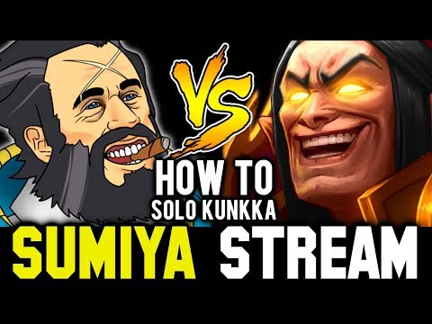 How to Deal with Kunkka in 7.21 Patch | Sumiya Invoker Strea