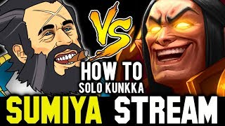 How to Deal with Kunkka in 7.21 Patch | Sumiya Invoker Stream Moment #541