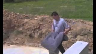 Сборный бассейн Toscana.(Подробная видео инструкция по монтажу сборного бассейна TOSCANA от компании
