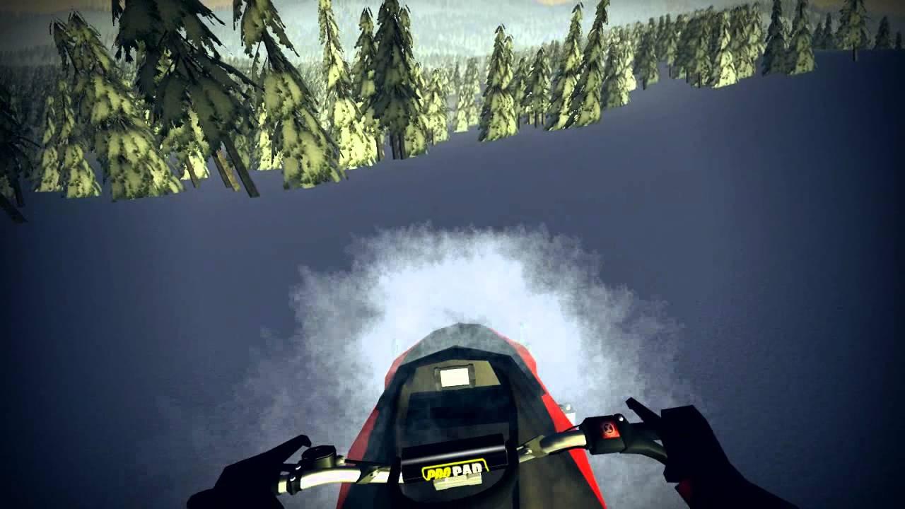 Скачать игру симулятор снегохода