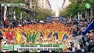 Bolivia Baila Entrada Folklórica en Buenos Aires Argentina 2018 - Parte 3