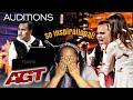 CRYING | KODI LEE - GOLDEN BUZZER | AMERICA'S GOT TALENT REACTION