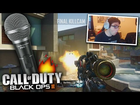 FAN RAPS FREESTYLE ON BO2 AFTER I HIT A TRICKSHOT! (MUST SEE)