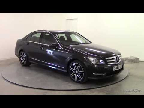 2012 mercedes c class c200 cdi blueefficiency amg sport plus youtube. Black Bedroom Furniture Sets. Home Design Ideas