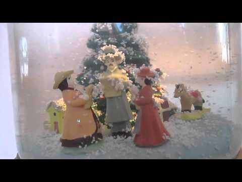 Mr. Christmas Musical Snowglobe