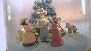 Mr. Christmas Musical Snowglobe Video