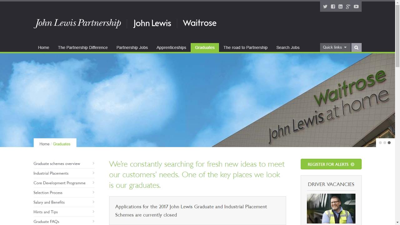 Using data & psychometrics in graduate recruitment - Gillian Howarth from John Lewis Partnership