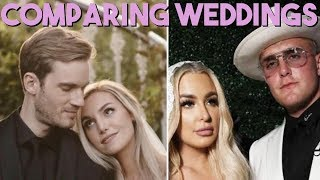 Comparing Pewdiepie & Jake Paul's Weddings