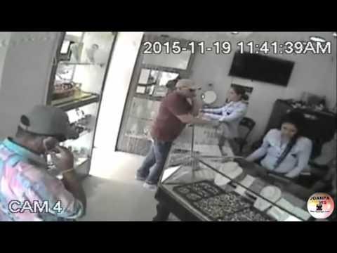 Frustran Robo a joyería de Aguachica una persona herida