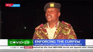 Enforcing the curfew: Situation in day 1 of the Nationwide curfew