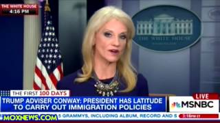 "KELLYANNE CONWAY ""I CAN ONLY TELL YOU WHAT I"