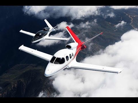 The Most Affordable Private Jet In The World : The Cirrus Vision.
