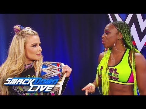 When is Naomi getting her SmackDown Women's Title rematch?: SmackDown LIVE, Aug. 29, 2017