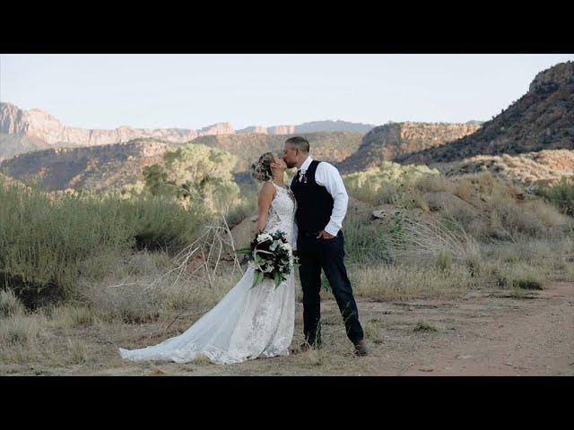 Kayla & Austin's  Wedding | Southern Utah Wedding | Destination Wedding |