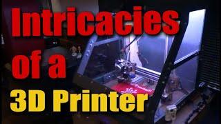 Convincing Grumpy Home Built 3D Printer Into Making Prototype Parts