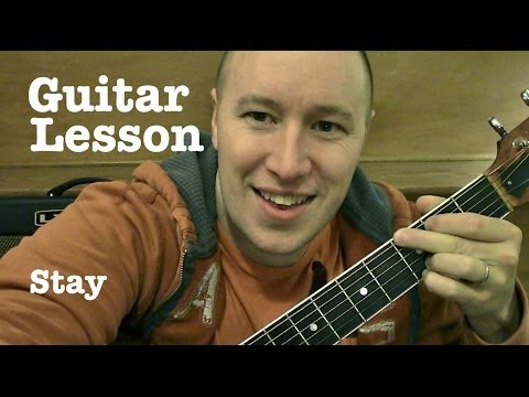 Stay- Guitar Lesson- Rihanna ft Mikky Ekko(Todd Downing)