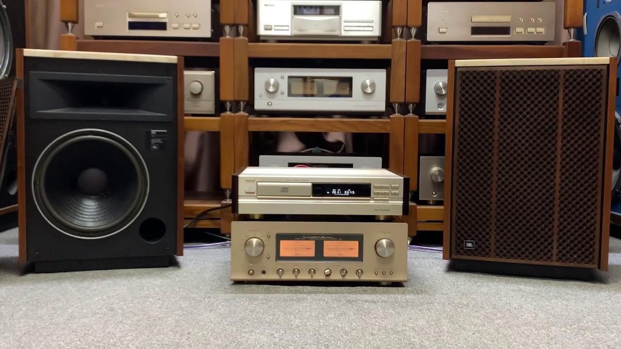 Test amply Luxman L509S và đầu CD Denon 1650Gold Limited gửi bác khách ở SG