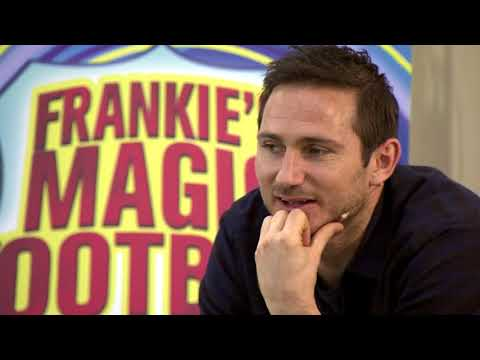 Frank Lampard at Urmston Junior School