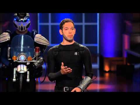 Real life transformers on the next shark tank youtube for Shark tank motorized vehicle suit update