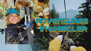 Ziplining for the First Time! | Adventure Time in Whistler
