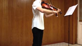 Minimal Beat (viola cover, at octave) - Lindsey Stirling