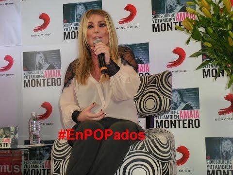 """AMAIA MONTERO En México Agradece Y Comenta """"Si Dios Quiere Yo También"""""""