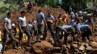 Typhoon Ompong aftermath: Itogon, Benguet