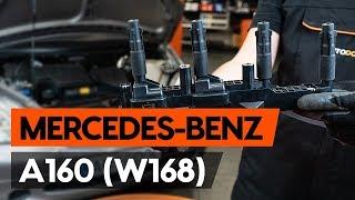 Montage MERCEDES-BENZ A-CLASS (W168) Bremssattel Reparatursatz: kostenloses Video