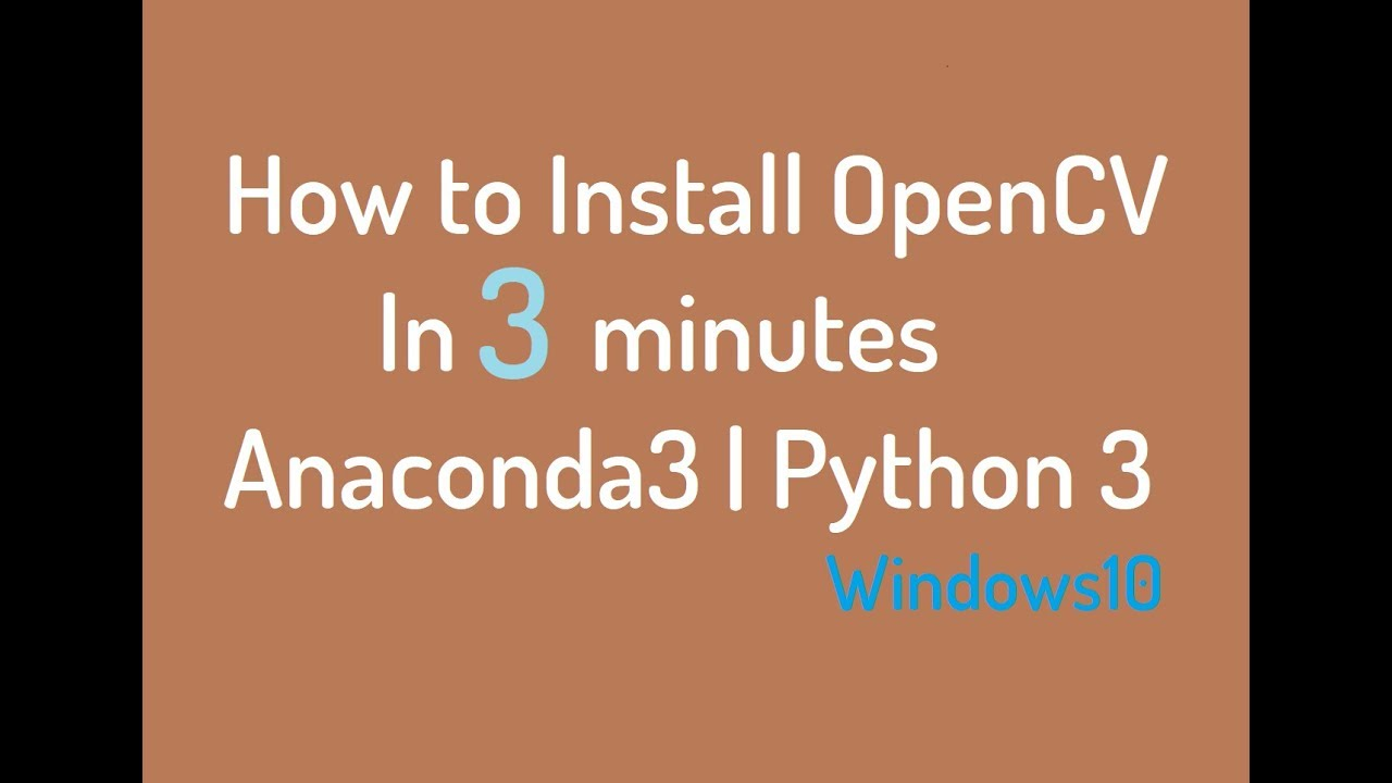 How to Install OpenCV by Command Prompt| Easiest & Simple way