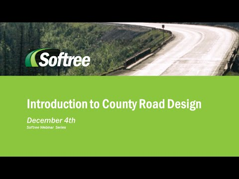 Introduction to County Road Design Webinar