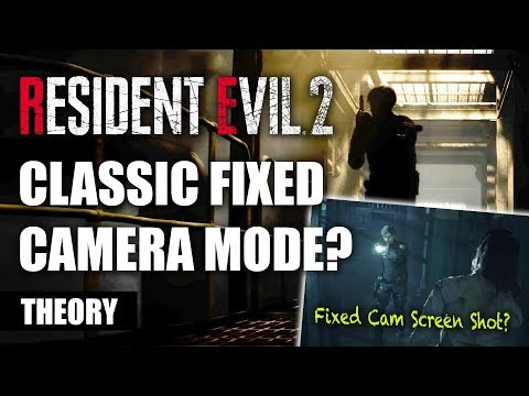 """Unlockable Fixed Camera Mode In Resident Evil 2 Remake THEORY 