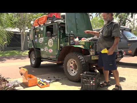 4WD Servicing - Milo gets the golden honey treatment - Roothy Bushmechanics