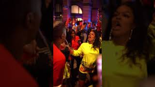 Teyana Taylor vibing out at her listening party for Keep The Same Energy album release #KTSE