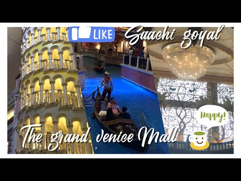 The Grand Venice Mall I Greater Noida | Places to visit near Delhi | Gondola Ride | Must Visit Place
