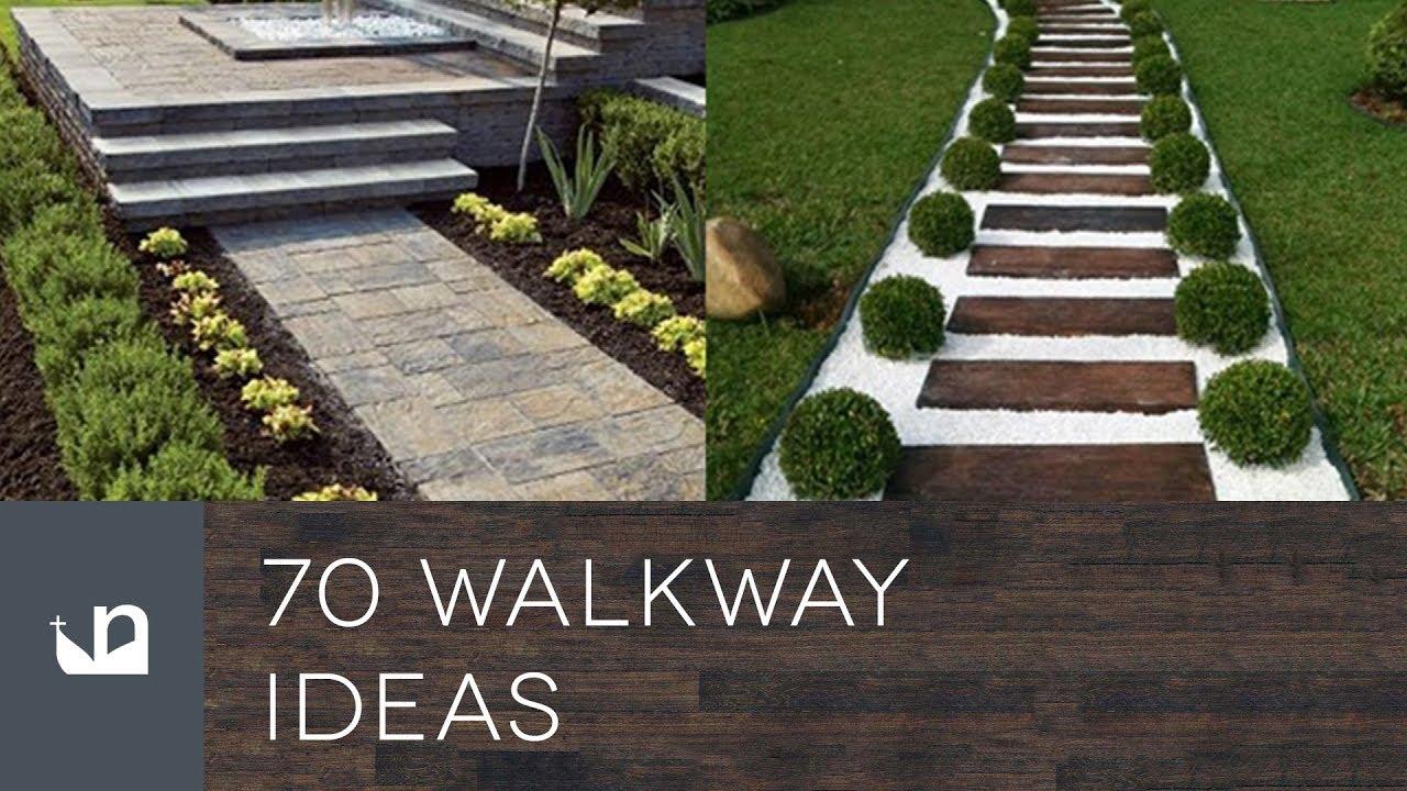 70 Walkway Ideas - YouTube on Backyard Walkway Ideas id=50126