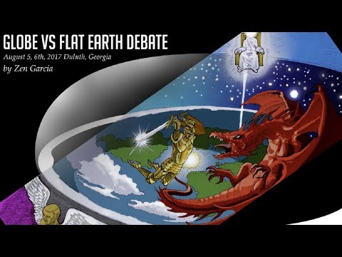 Flat Earth vs the globe scripture debate - Zen Garcia & Dr Stephen Pidgeon - INL Mirror ✅