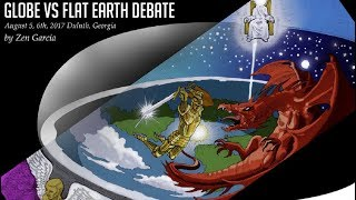 Flat Earth vs the globe scripture debate - Zen Garcia & Dr Stephen Pidgeon - INL Mirror ✅