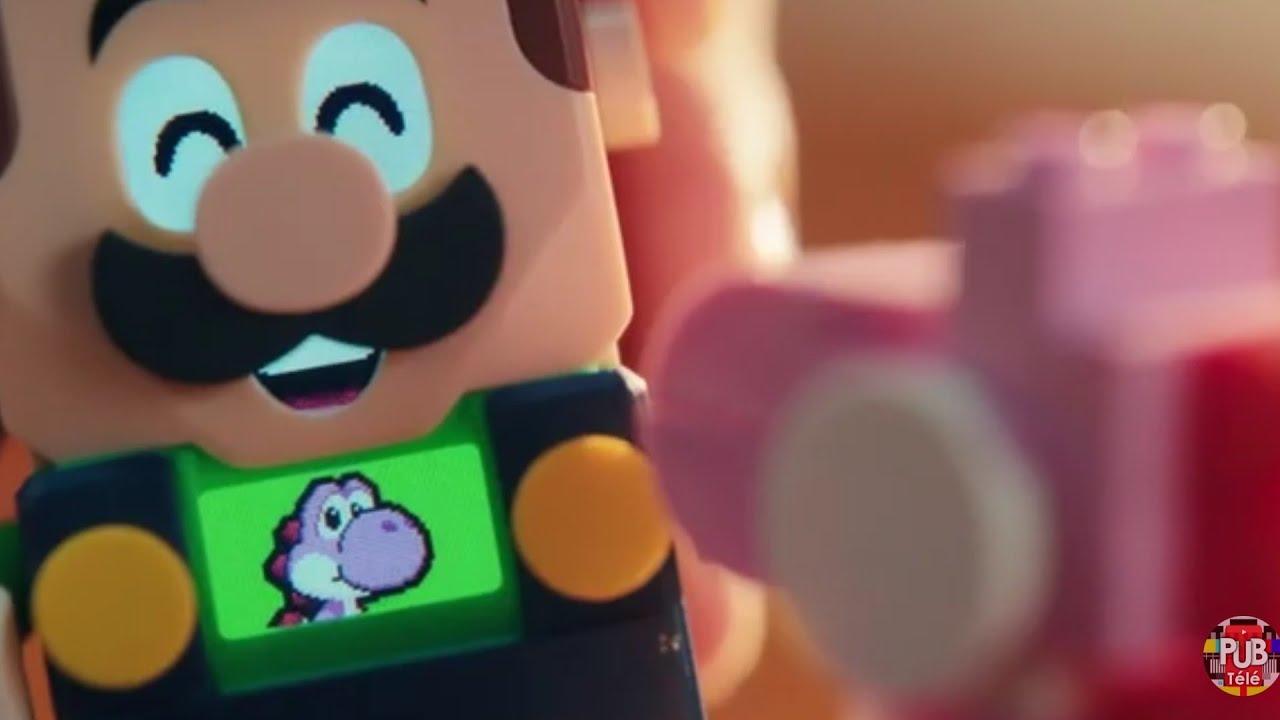 """Musique de la pub Lego Super Mario – Luigi """"Tes niveaux ! Tes aventures !""""  Septembre 2021"""