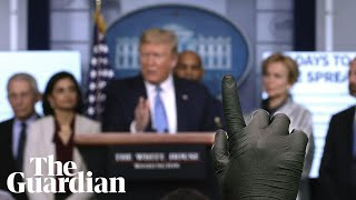 Coronavirus: Trump holds press conference with US task force – watch live