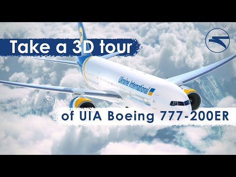 Take A 3D Tour Of UIA Boeing 777-200ER Now!