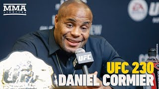 UFC 230: Daniel Cormier Post-Fight Press Conference - MMA Fighting