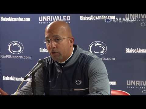 Ohio State Postgame: James Franklin