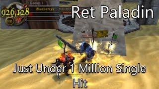 WoW Legion Gameplay | PVP Arena | Ret Paladin hit me just under 1 MILLION | Arms Warrior POV