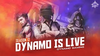 PUBG MOBILE LIVE WITH DYNAMO & HYDRA SQUAD | SQUAD RUSH GAMEPLAY
