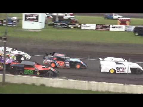 IMCA Sport Mod Heat 2 Benton County Speedway 6/9/19